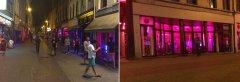 Квартал красных фонарей в Антверпене. Бельгия.