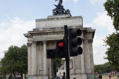 Светофор для полицейских на коняшках