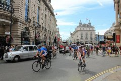 Забег велосипедистов