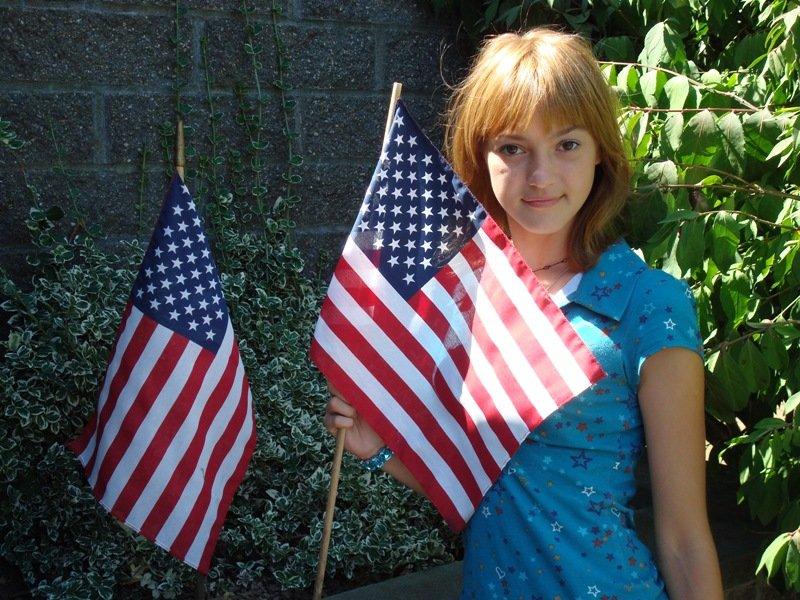 Первая поездка в США летом 2007 года