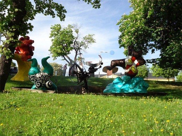 Скульптуры в Стокгольме