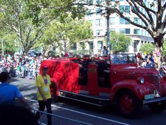 Старые пожарники.