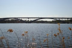 V?sterbron, вид с Kungsholmen