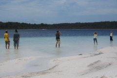 Озеро Клэй на острове Фрейзера