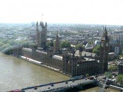 Лондон с высоты птичьего полёта