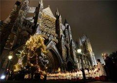 Вестминстерское аббатство перед Новым годом