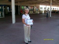 Встреча туриста с сильвер-пакетом в аэропорту