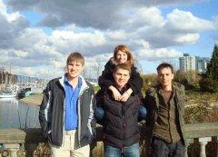 Компания русских студентов в Ванкувере
