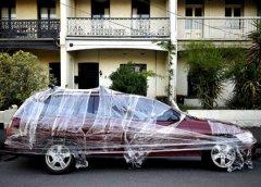 машины в пластике Мельбурн