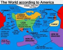 Карта по-американски