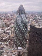 Лондонский офисный огурец