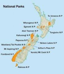 Национальные парки Новой Зеландии