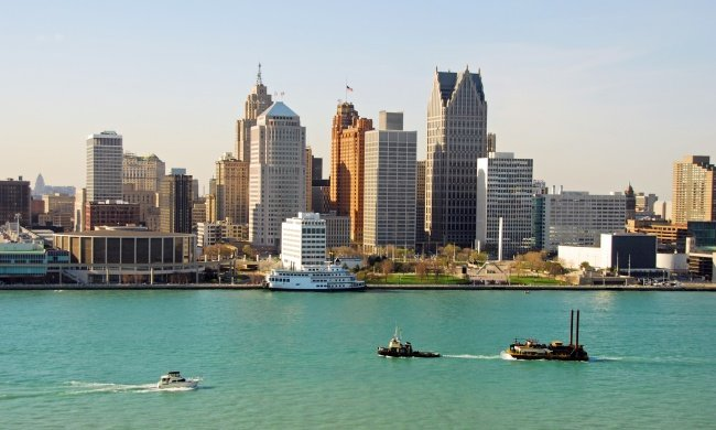 Город Детройт, штат Мичиган, США