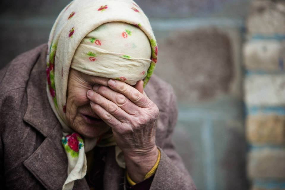 нищие пенсионеры