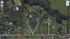 Heart-Shaped Lake, Columbia Station, Ohio, USA.jpg