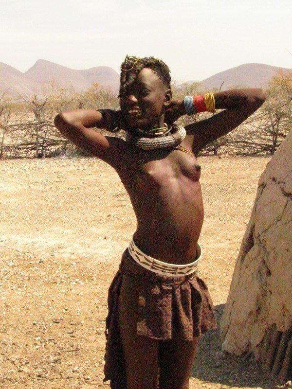 Химба, Намибия. Здесь живут самые красивые женщины Африки. 9.jpg