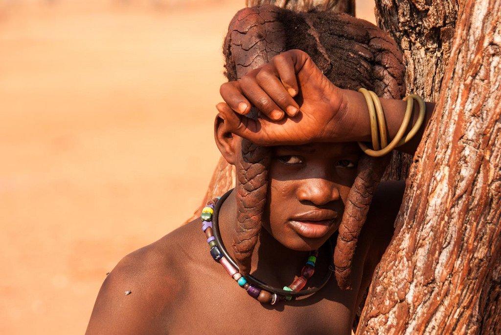 Химба, Намибия. Здесь живут самые красивые женщины Африки. 15.jpg