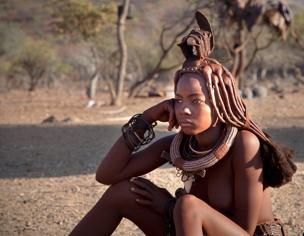 Химба, Намибия. Здесь живут самые красивые женщины Африки. 17.jpg