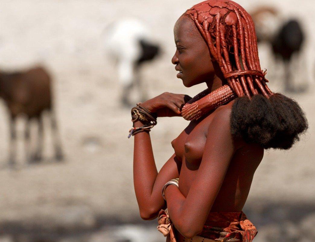 Химба, Намибия. Здесь живут самые красивые женщины Африки. 18.jpg