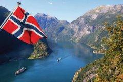 Четвертое место Норвегия. Прирост миллионеров 13,2%. Число миллионеров в стране 155 тысяч человек..jpg