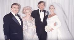 2 47-летний Дональд Трамп и 29-летняя Марла Мейплз поженились в 1993 году.png