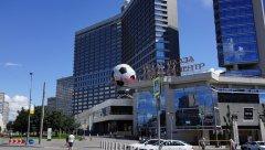 Садовое кольцо, Lotte Plaza Торговый центр, Новинский бул., 8, Москва 23.07.2017 г..JPG