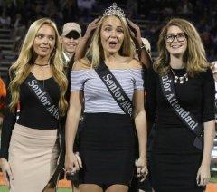 Выпускники и выпускницы. Что могут сделать школьницы в выпускную ночь, Waverly High School homecoming queen, USA.jpg