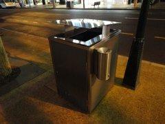 1 Garbage bin with an ashtray, Brisbane, immigration Australia, rospersonal, rospersonal otsyvy, Evgeny Matveevich Mikhaylov, Mikhaylov Evgeny Matveevich.jpg