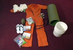 A set of things issued by detainees in Guantanamo, Cuba.jpg