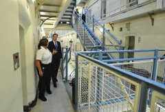 British Prime Minister on a visit to Wormwood Scrubs Prison in west London.jpg