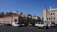 Садовое кольцо, вид на проспект Мира с Большой Сухаревской площади, Москва 11.08.2018 г..JPG