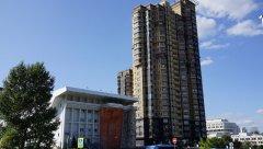 Жилое высотное здание по ул. Покрышкина 1к1, Москва, 25.08.2019 г..JPG