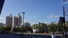 Вид на проспек. Вернадского от Avenue Southwest - Торговый центр, просп. Вернадского, 86А, Москва, 25.08.2019 г.JPG