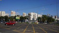 Перекрёсток просп. Вернадского и ул.Лобачевского, Москва, 25.08.2019 г.JPG
