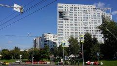 Жилой дом, вид ближе, проспект Вернадского, 87к3, Москва, 25.08.2019 г.JPG