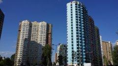 Двор проспекта Вернадского, новые жилые дома 52 и 60, Москва, 25.08.2019 г.JPG