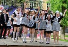 Young Russian girls, high school gradiaters 190.JPG