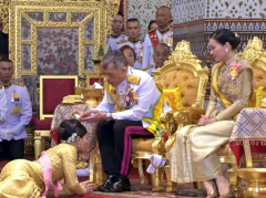 King of Thailand a harem of 20 concubines.png