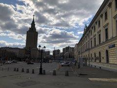 Москва, Басманный район,вокруг и около Комсомольской площади в период самоизоляции, рабочий день 21 апреля2020 г. 2.jpeg