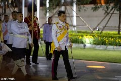 King of Thailand has ended his self-isolation and returned home for a festival.jpg