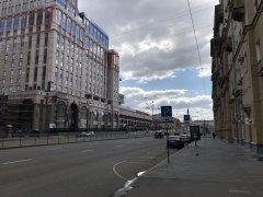 Москва, Басманный район,вокруг и около Комсомольской площади в период самоизоляции, рабочий день 21 апреля2020 г. 12.jpeg