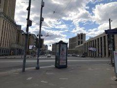Москва, Басманный район,вокруг и около Комсомольской площади в период самоизоляции, рабочий день 21 апреля2020 г. 7.jpeg