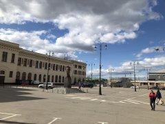 Москва, Басманный район,вокруг и около Комсомольской площади в период самоизоляции, рабочий день 21 апреля2020 г. 8.jpeg