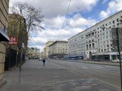 Москва, Басманный район,вокруг и около Комсомольской площади в период самоизоляции, рабочий день 21 апреля2020 г. 4.jpeg