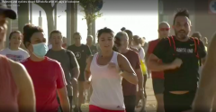 Runners and cyclists crowd Barcelona-rospersonal-Mikhaylov-Evgeny-Matveevich-Immigration-Agent-Moscow.png