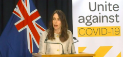 Jacinda Ardern has confirmed New Zealand could move to alert level 1 next weekJacinda Ardern has confirmed New Zealand could move to alert level 1 next week.png