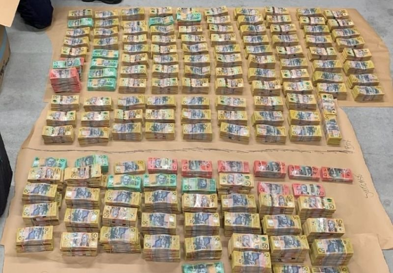 Police are investigating after more than $4 million was found in a car in Queensland.jpeg