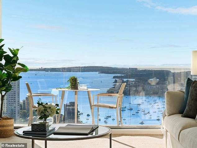 Darling Point, NSW 2027 (pictured, a home being sold for $2.3million. Buyers need to earn an average of $729,549 to buy a home in the elite suburb-visa-news-rospersonal-Mikhaylov-Evgeny-Matveevich-Immigration-Agent-Moscow.jpeg