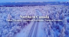 Северная Канада: Yukon Territory, Northwest Territories,  Nunavut Territory