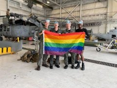 The US Navy has the first unit in the history of the country, fully staffed with homosexuals.jpg